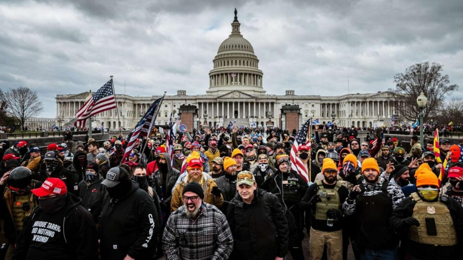 A Historic Moment In Our Nation as Trump Supporters Storm The Capitol.